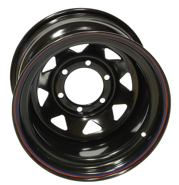 4MAD Felga stalowa czarna 15×10 6×139,7 et-50
